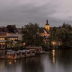 """фото """"Дождливый вечер на реке"""""""