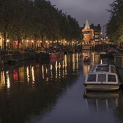 "фото ""Амстердам вечерний"""