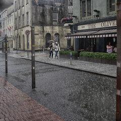 "photo ""Summer rain"""