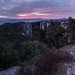 """photo """"Утро в скальном городе"""""""