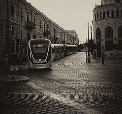 "photo ""Jerusalem tram"""