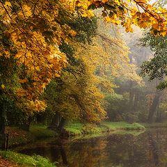 """photo """"Осенняя река"""""""
