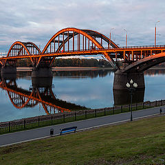 "photo ""Rybinsk bridge"""