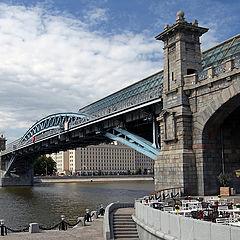 "photo ""Pushkinsky bridge"""