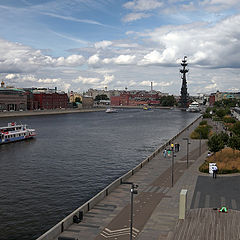 "photo ""Krymskaya embankment"""