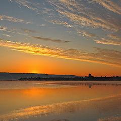 """фото """"Июльская зорька....река Ия."""""""