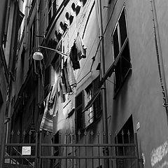 """photo """"Genoa, historical centre"""""""