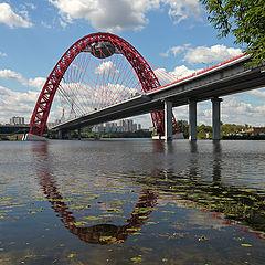 """photo """"Bridge """"Picturesque"""""""""""