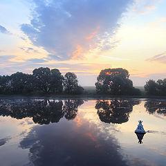 "photo ""Dawn on Oka"""