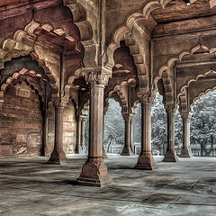 """фото """"The Red Fort, India"""""""