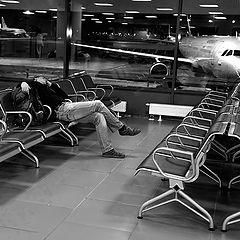 """фото """"человек и самолет"""""""
