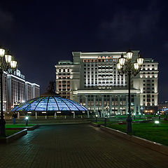 "photo ""night Moscow"""