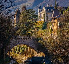 "фото ""Мост и старый замок"""