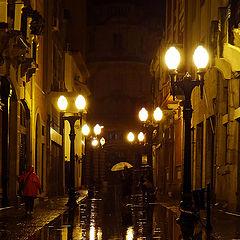 "photo ""Walking in the rain..."""