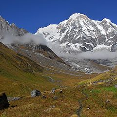 "photo ""Annapurna South"""