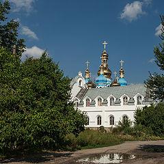 """фото """"Деревенская церковь."""""""