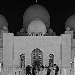 """фото """"Белая мечеть."""""""
