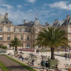 """фото """"Palais du Luxembourg."""""""
