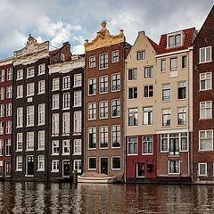 """фото """"Городская улица. Амстердам."""""""