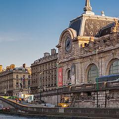 """фото """"Embankment, Paris."""""""