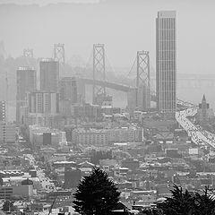 """photo """"Сан Франциско рано утром."""""""