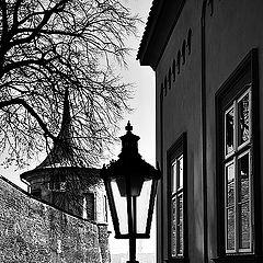 "photo ""Башня, фонари и окна"""