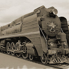"photo ""The last steam engine"""