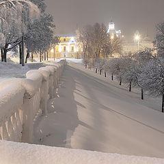 "photo ""Snowfall in Yaroslavl"""