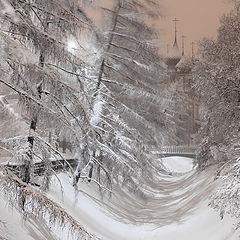 """фото """"Ярославль под снегом"""""""