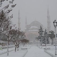 "фото ""Стамбул под снегом"""