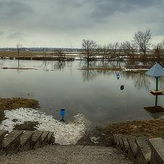 """фото """"Про то, как в марте речка разливалась..."""""""