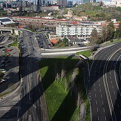 """photo """"Shadow - Lisboa - Aqueduto das Águas Livres"""""""
