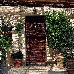 "photo ""Crete. Greek patio"""