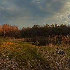 "фото ""Про лес, озеро, весну и утро..."""