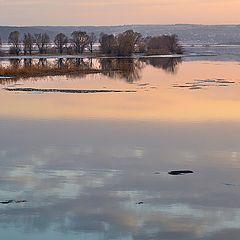 """photo """"Ice drift on Volga"""""""