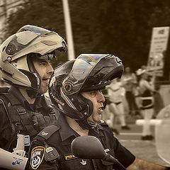 "photo ""Facial expressions on policing"""