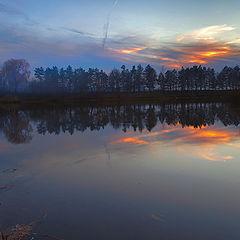 """фото """"Вечер у озера"""""""