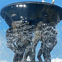 "фото ""Oslo: Vigeland-Fountain"""