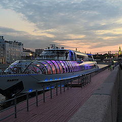 "photo ""Moscow river"""