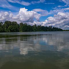 "фото ""Облака утонули"""