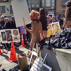 """photo """"За Отмену Запрета на Появление в Сан Франциско без Одежды (II)."""""""