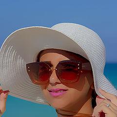 "фото ""PORTRAIT ON THE BEACH"""