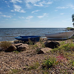"photo ""on the shore of Lake Peipsi. Nina village"""