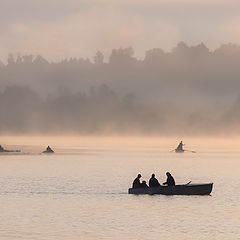 """фото """"Трое в лодке, не считая собратьев."""""""