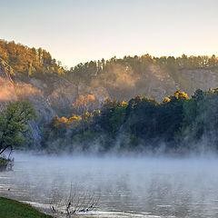 """фото """"Утро на Белой реке"""""""
