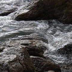 """photo """"Rock'n'water"""""""