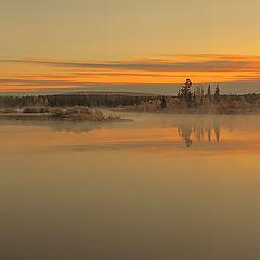 """фото """"Утро на реке Ия"""""""