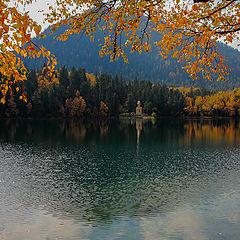 """фото """"Осень ...изумрудное озеро"""""""