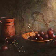 """фото """"С виноградом и кружкой"""""""
