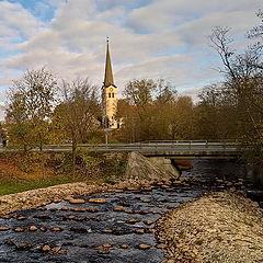 "photo ""Pirita river in the town of Kose"""